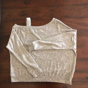 Coin 1804 One Shoulder Dolman Long Sleeve Sweater